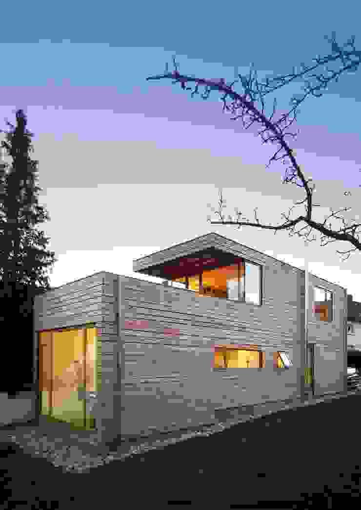Atelierhaus in Würzburg Skandinavischer Garten von Wolfgang Fischer Architektur Skandinavisch
