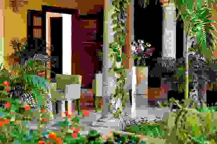 Jardín Hoteles de estilo ecléctico de Taller Estilo Arquitectura Ecléctico