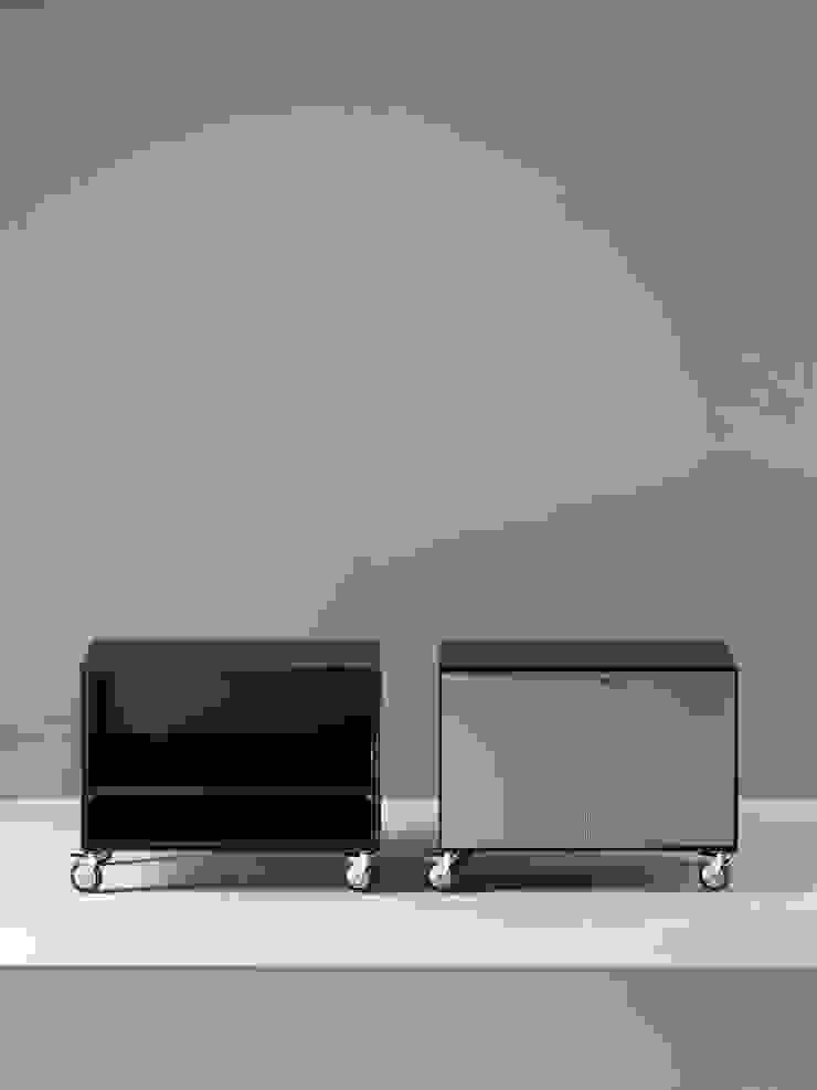 Contenitori Quadrotto:  in stile industriale di Emmesystem by Emme Italia, Industrial