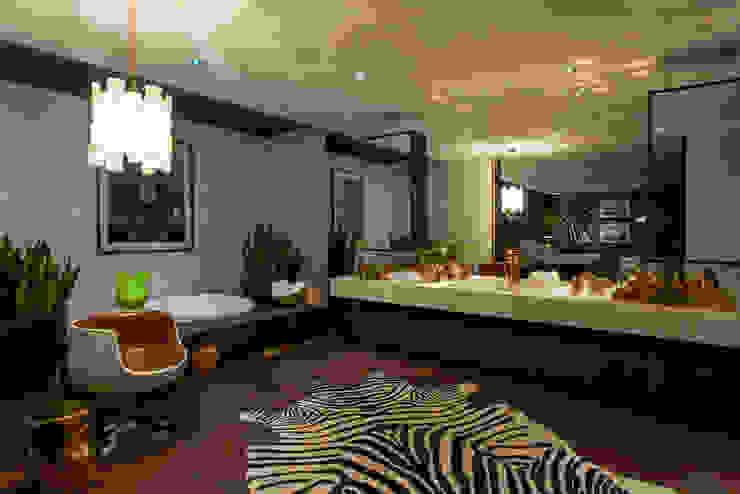 Ванная комната в стиле модерн от Brunete Fraccaroli Arquitetura e Interiores Модерн