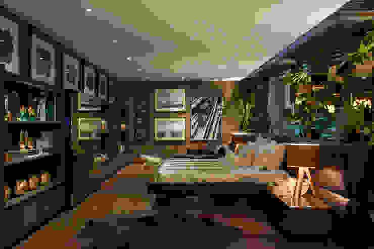 Casa Cor 2014 Quartos modernos por Brunete Fraccaroli Arquitetura e Interiores Moderno