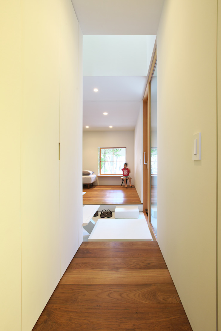 OH! house Takeru Shoji Architects.Co.,Ltd Eclectic style houses