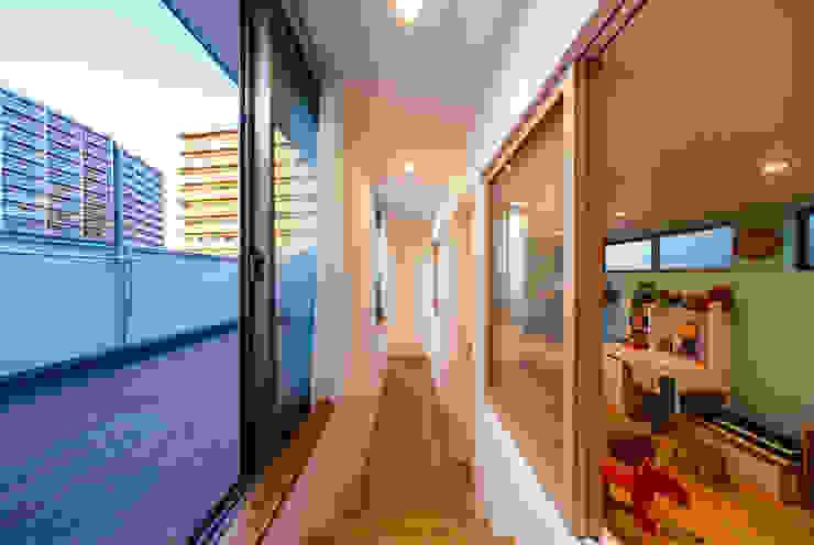 haus-wave 北欧デザインの テラス の 一級建築士事務所haus 北欧