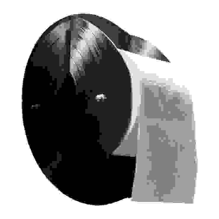 Distributeur papier toilettes, en disque vinyle recyclés par Rose Bunker