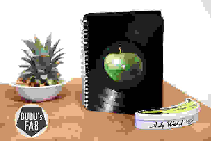 Grand carnet en disque vinyle recyclés par Rose Bunker