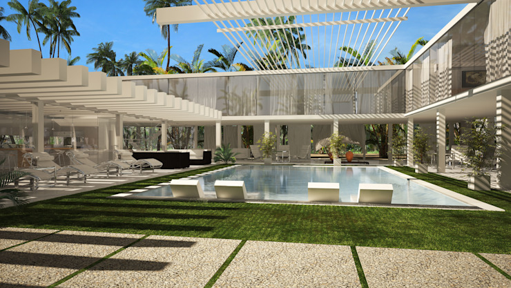RESIDENTIAL HOUSE IN THE BEACH de SERGIALEX.SCP