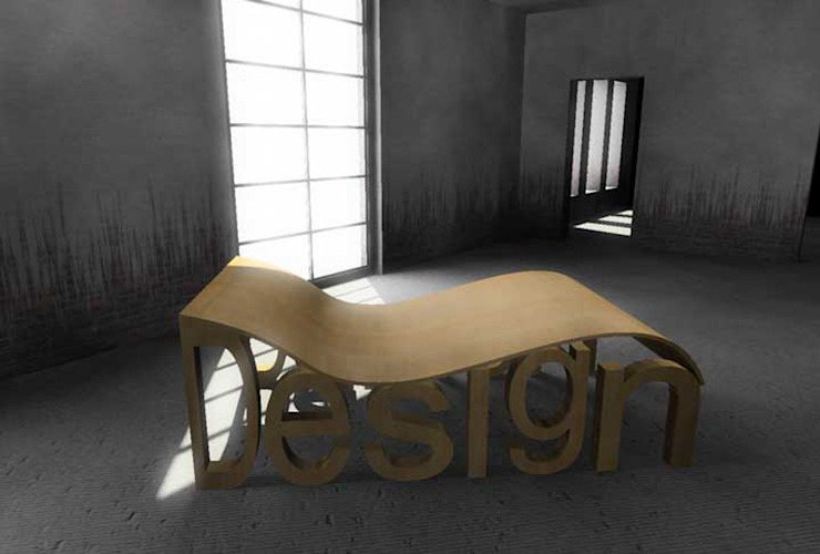 Oriana:  in stile industriale di Davide Conti Design Studio, Industrial