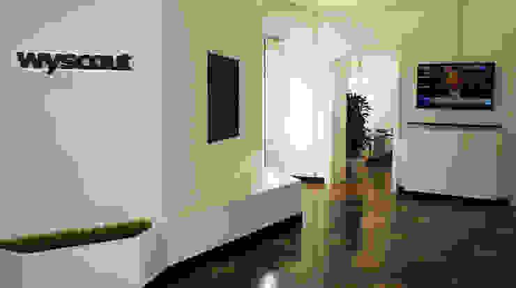 WyScout Office Studio moderno di Davide Conti Design Studio Moderno