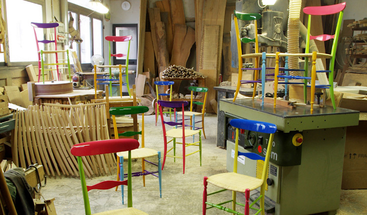 Chiavarina Supercolor di Davide Conti Design Studio Moderno