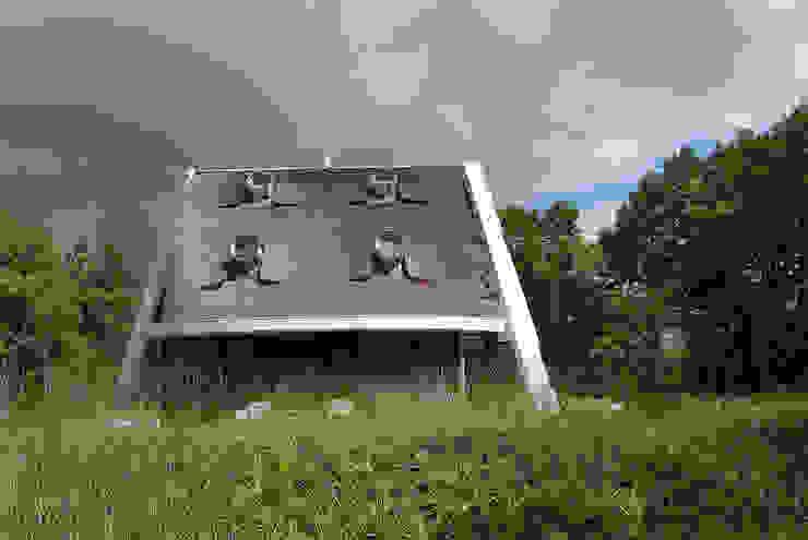 現代房屋設計點子、靈感 & 圖片 根據 Factor Architecten 現代風