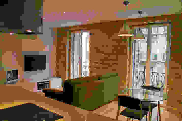 BASA ARQUITECTURA S COOP PEQ P Modern living room