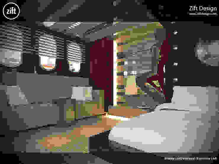 Zift Design – Yacht, Questa e La Vita 30 M: modern tarz , Modern