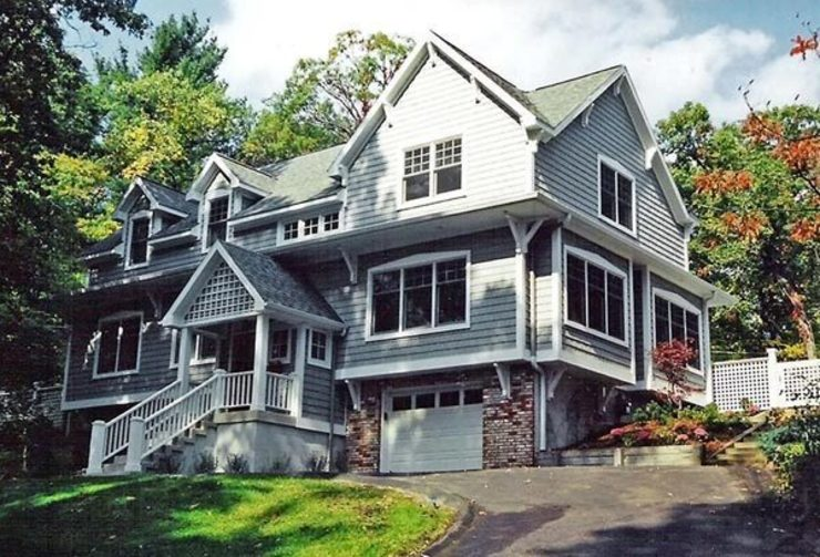 The Grey Hillside House Schema Studio Limited Home design ideas