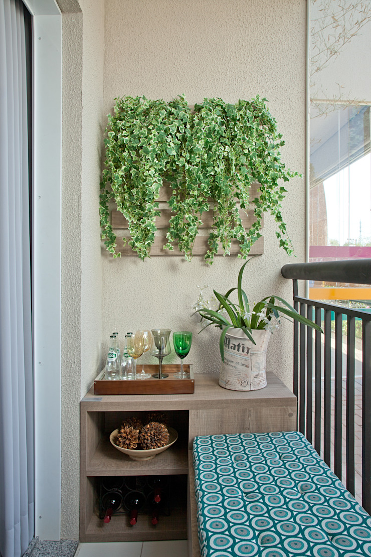 Apartamento Decorado PDG Maxi por Adriana Fontana Design de Interiores Moderno
