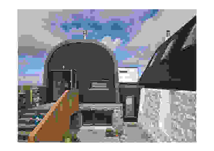 House No. 7 Denizen Works Rustikale Häuser