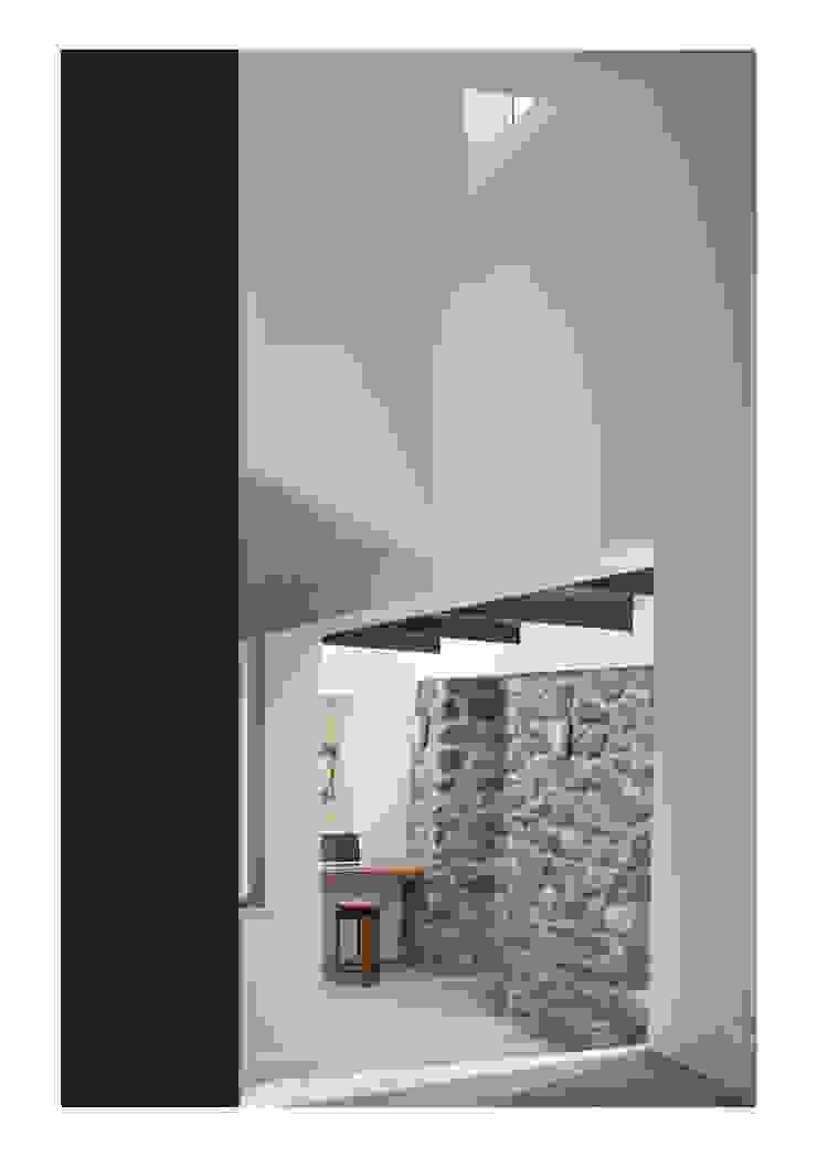 House No. 7 Paredes y pisos rústicos de Denizen Works Rústico