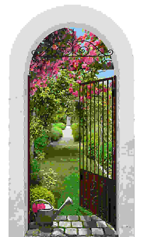 Jardin de roses par Creamint Moderne