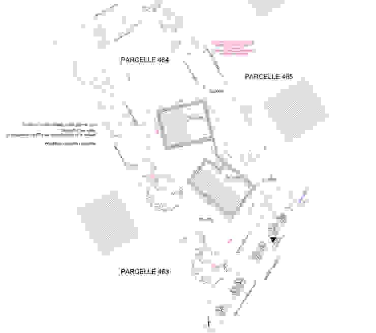 Vue projetée du terrain par Urban log/in Méditerranéen