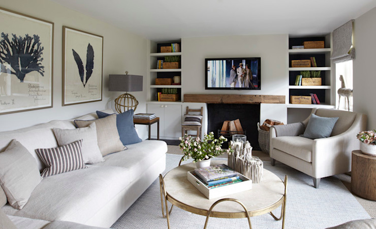 Living room by Helen Green Design
