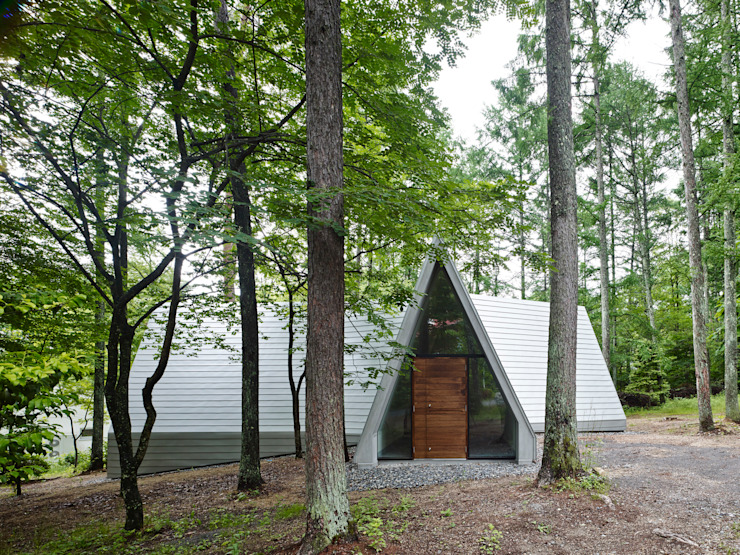 Forest House Modern houses by カスヤアーキテクツオフィス(KAO) Modern