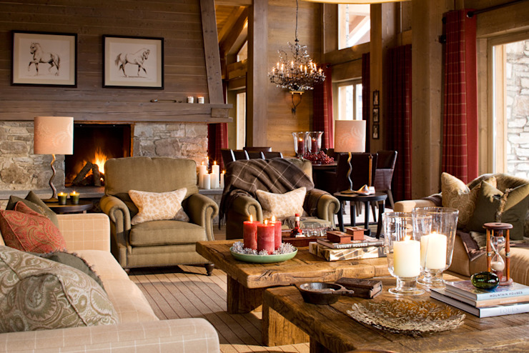 Chalet, Val d'Isère Дома от Helen Green Design