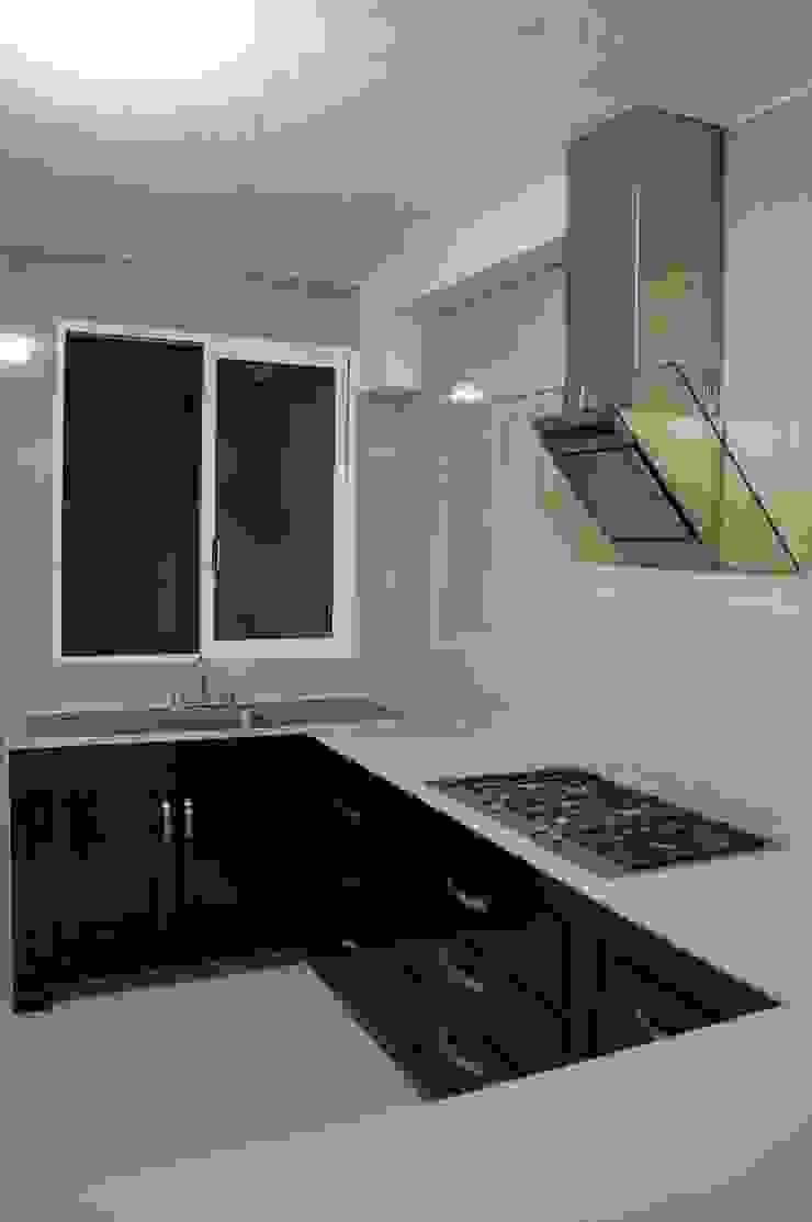 Remodelacion Casa <q>El Almendro</q> Cocinas minimalistas de zerraestudio Minimalista