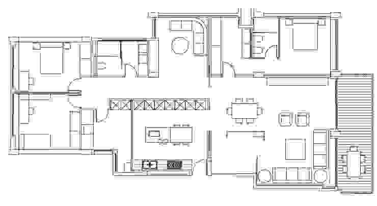 Refurbishment plan by FG ARQUITECTES Modern