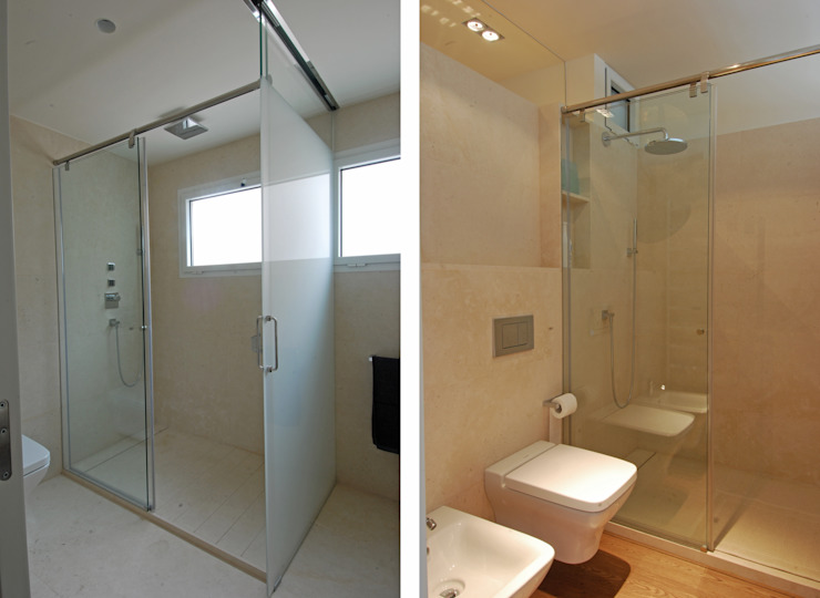 Bathroom Modern bathroom by FG ARQUITECTES Modern