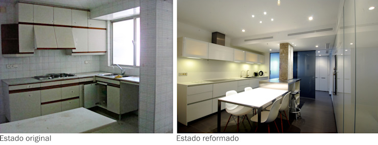 Reform of the kitchen FG ARQUITECTES Modern