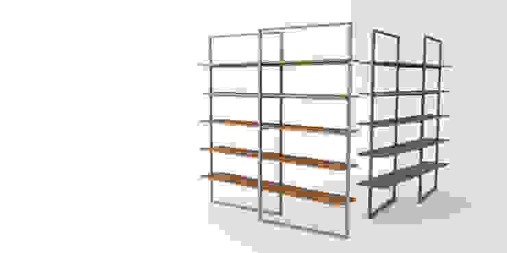 Daedalus Furniture – Lat Kitaplık: modern tarz , Modern