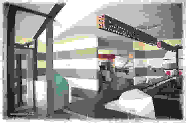 portfolio 01_studioarchitetturagolinelli di studioarchitetturagolinelli Moderno