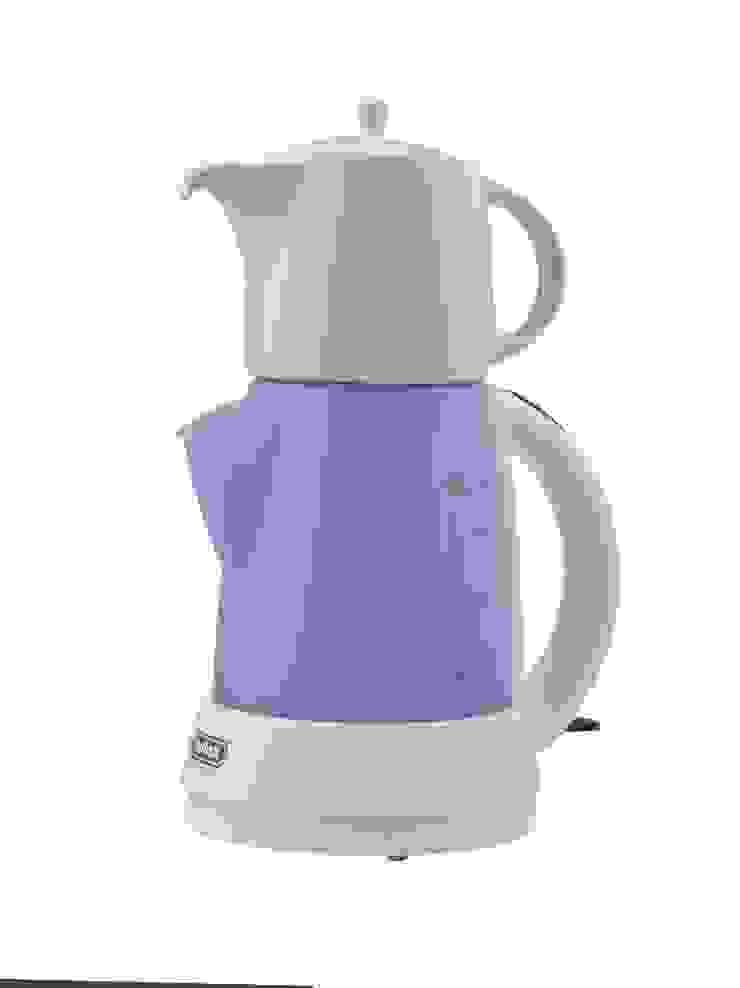 Der Tee-Express in Blau mit Teekanne aus Porzellan von Mulex GmbH