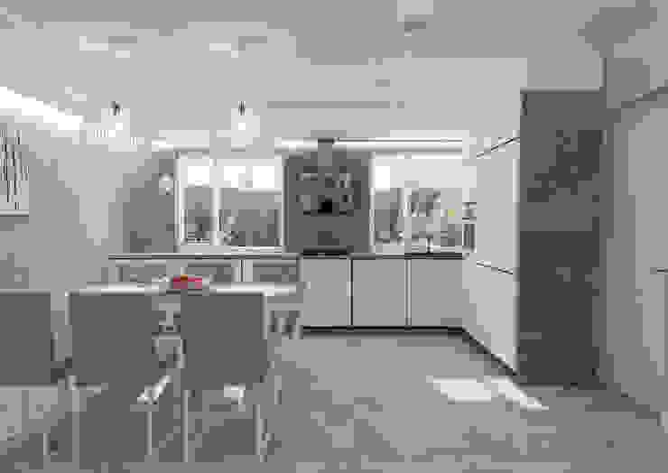 Kuchnia w stylu nowoczesnym Minimalistyczna kuchnia od STUDIO MAC Minimalistyczny