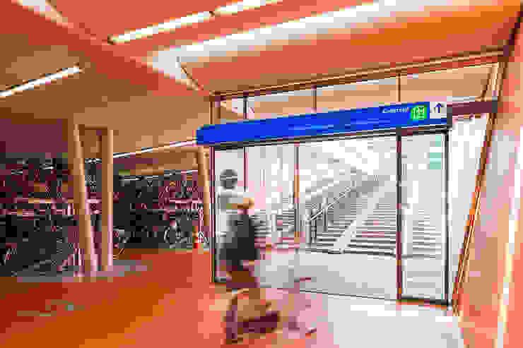 Rijwielstallingen Station Haarlem van wUrck