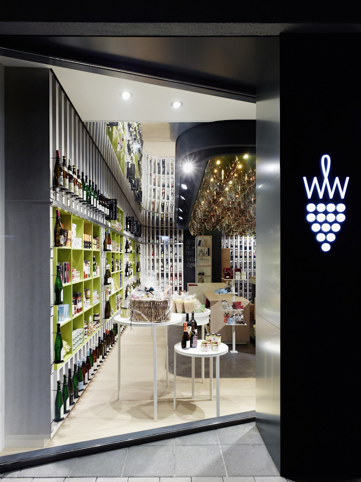 Wein & Wahrheit Ippolito Fleitz Group – Identity Architects Commercial Spaces