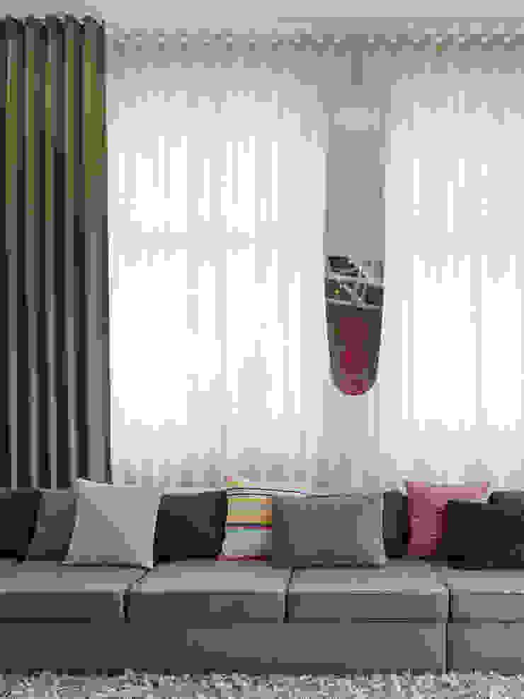 Loft ESN Ippolito Fleitz Group – Identity Architects Moderne Wohnzimmer