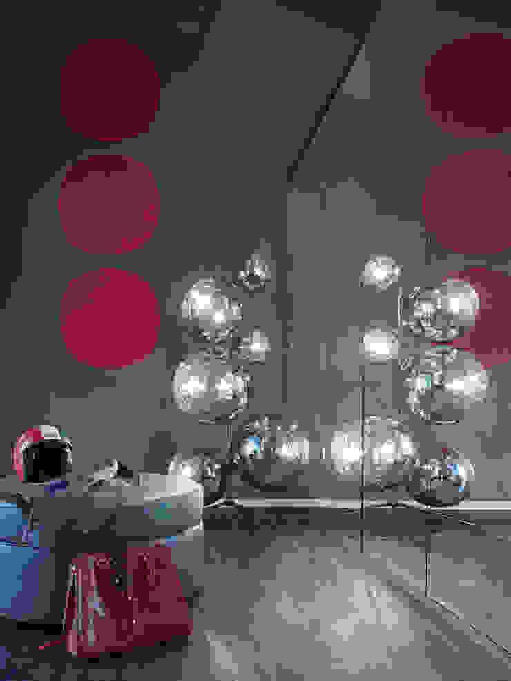 Loft ESN Ippolito Fleitz Group – Identity Architects Modern Dressing Room