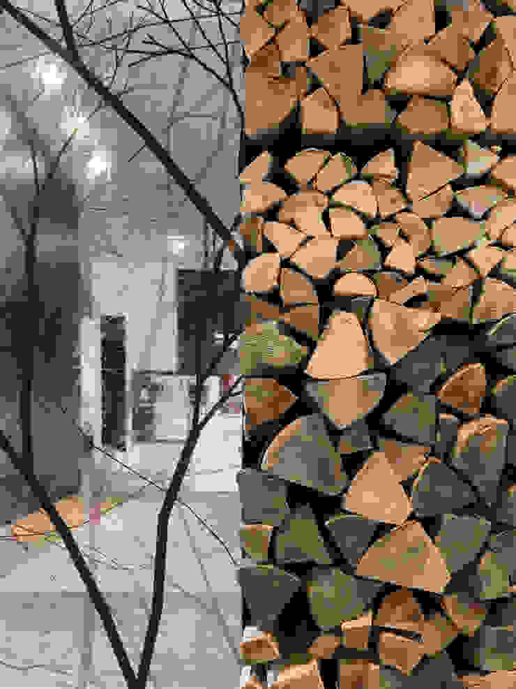 Loft ESN Ippolito Fleitz Group – Identity Architects Living roomAccessories & decoration
