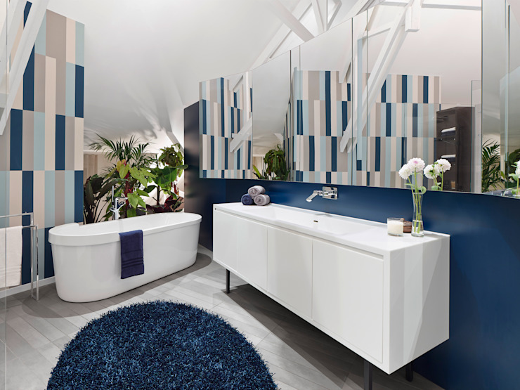 Loft ESN Modern Bathroom by Ippolito Fleitz Group – Identity Architects Modern