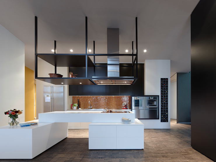 Loft ESN Modern Kitchen by Ippolito Fleitz Group – Identity Architects Modern
