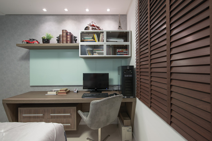 Aconchego do Lar na Capital Catarinense Casas modernas por Actual Design Moderno