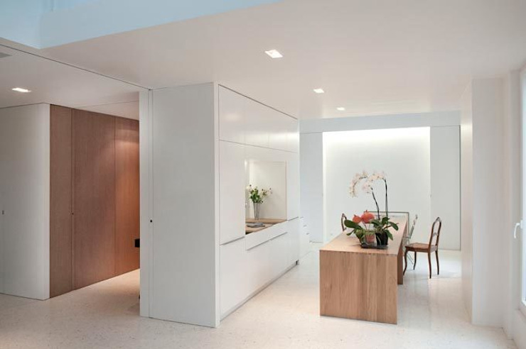 atelier teisseire architectes Espaces de bureaux modernes par Teisseire Moderne