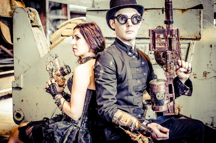 L'atelier Purpl'in: La scénographie Steampunk par L'atelier Purpl'in Éclectique