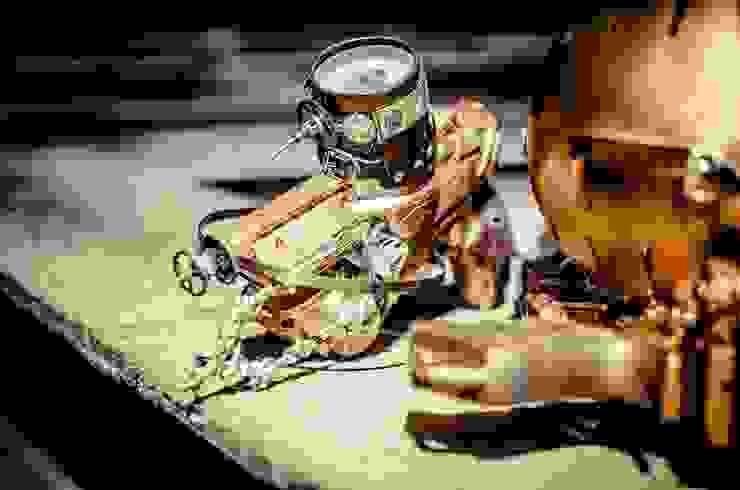 L'atelier Purpl'in: La scénographie Steampunk par L'atelier Purpl'in Éclectique