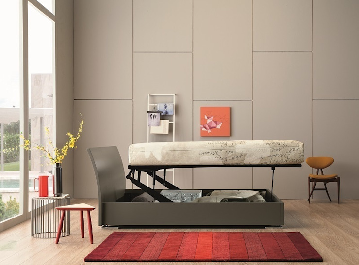de estilo  por OGGIONI - The Storage Bed Specialist, Moderno