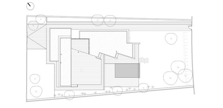Roofs plan by FG ARQUITECTES Modern