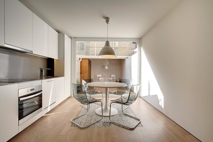 Escritórios minimalistas por Lara Pujol | Interiorismo & Proyectos de diseño Minimalista