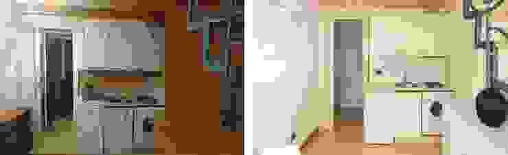 Homestaged Apartment 01 di PLANAIR ® Moderno