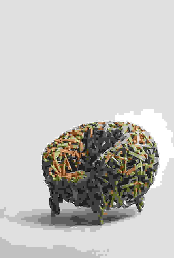 Crossed stick chair 러스틱스타일 거실 by lee3woong studio 러스틱 (Rustic)