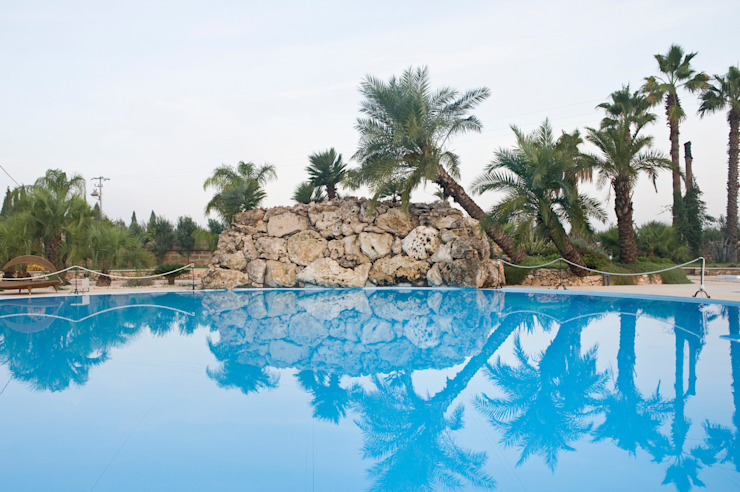 Un atollo sospeso Giardino moderno di MELLOGIARDINI EXTERIOR DESIGNERS Moderno